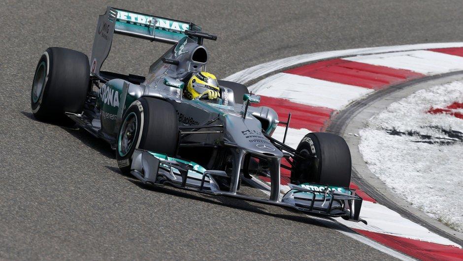 """F1 - Essais GP de Chine : Rosberg """"très à l'aise"""""""