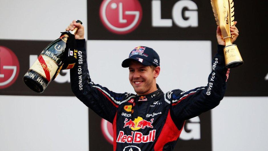 F1 - GP Corée : Vettel nouveau leader du championnat