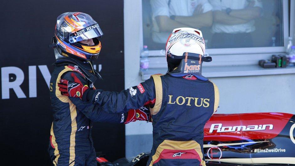 F1 - GP d'Allemagne : Grosjean de retour sur le podium