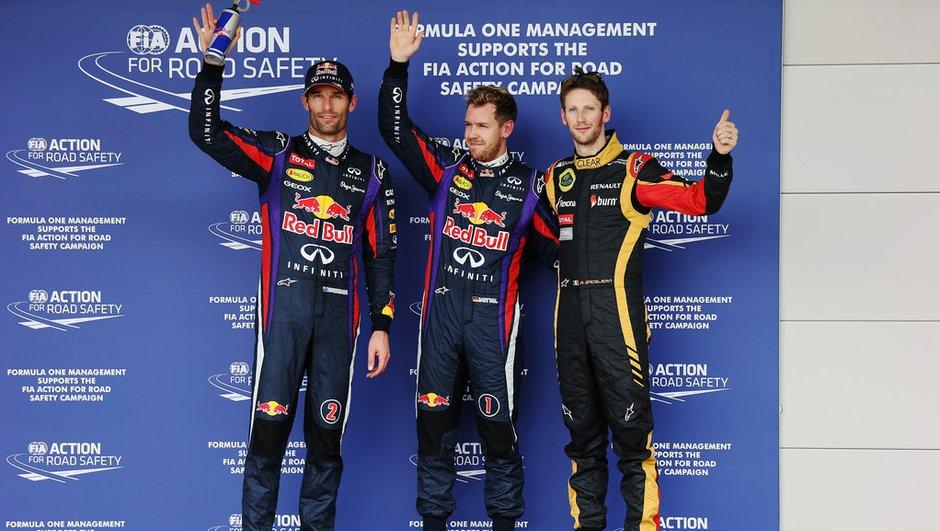 F1 - GP des Etats-Unis 2013 : la grille de départ
