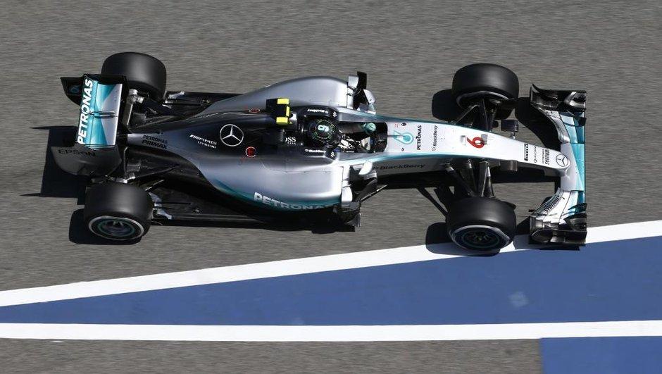 F1 : Les Mercedes brillent lors des Essais Privés à Barcelone
