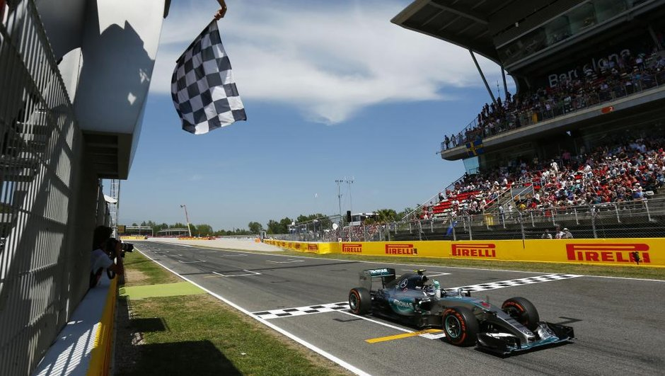 F1 - GP d'Espagne 2015 : Rosberg se relance