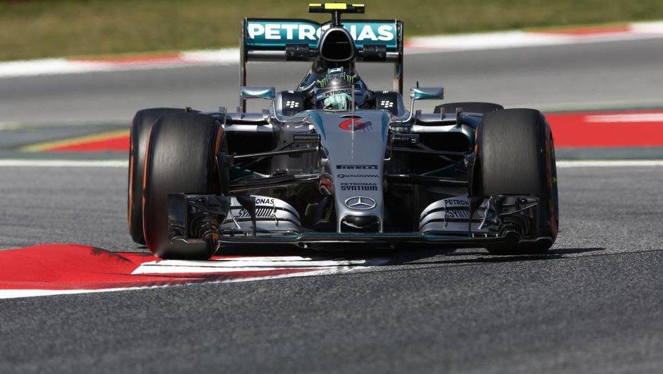 F1 - GP d'Espagne 2015 : Rosberg reprend la main aux essais 3