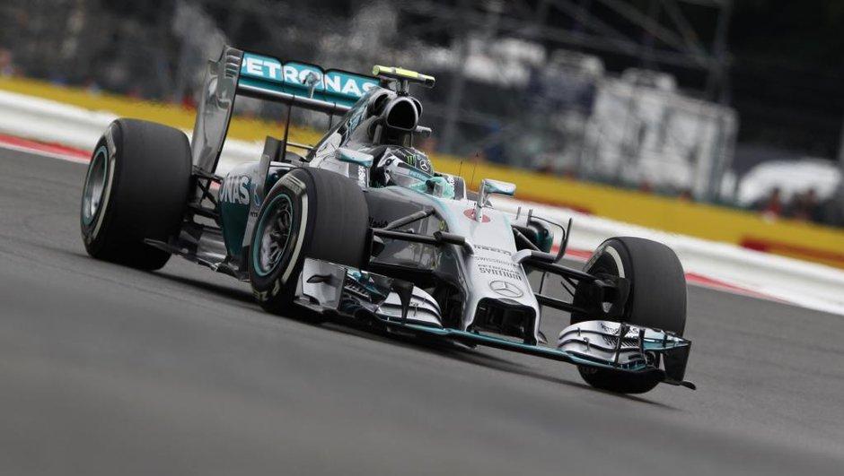 F1 - GP Grande-Bretagne 2014 : Bon timing pour Rosberg