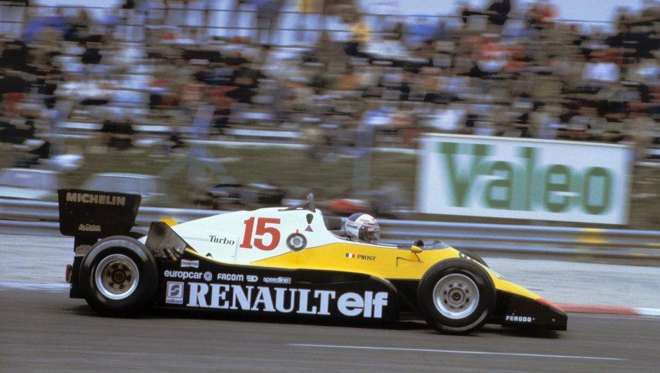 F1 - Les grandes heures de Renault en Formule 1