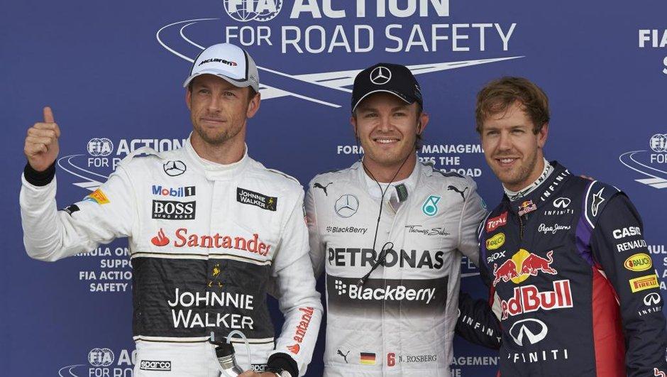 F1 - GP Grande-Bretagne 2014 : Rosberg prive Vettel d'une pole position