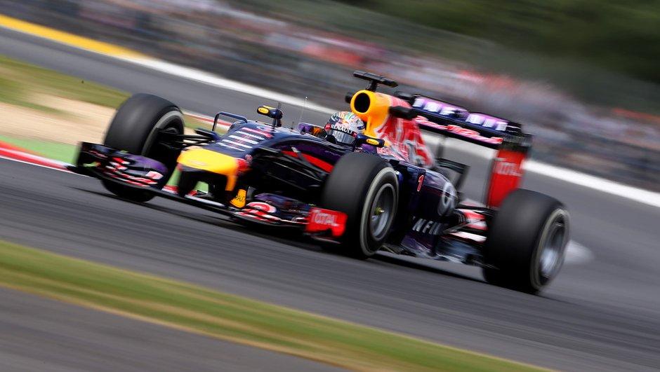 F1 - GP Grande-Bretagne 2014, essais libres 3 : Vettel retrouve l'appétit sous la pluie