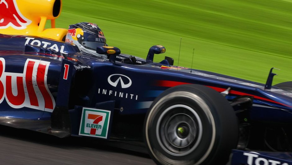 F1 Grand Prix de Corée : Vettel prend la tête de la course