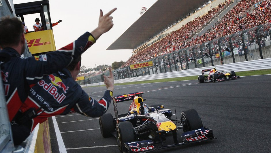 F1 GP du Japon : Vettel est champion du monde 2011 !