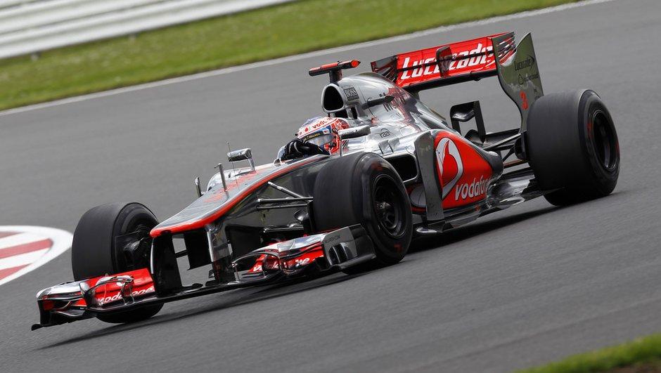 F1 - Essais GP d'Allemagne : Button en avance sous les averses