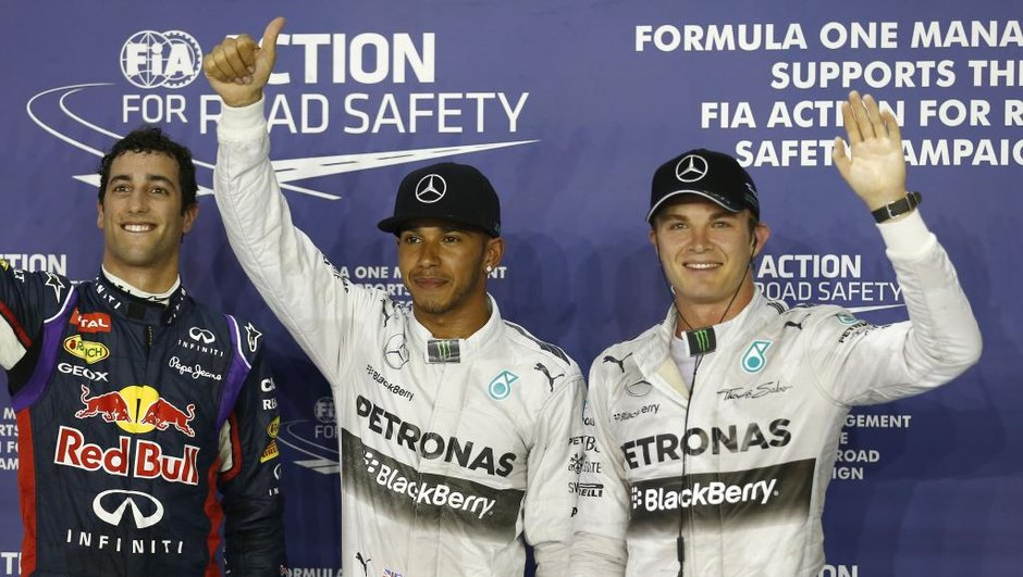 F1 - GP Singapour 2014 : Hamilton subtilise la pole position à Rosberg pour 7 millièmes