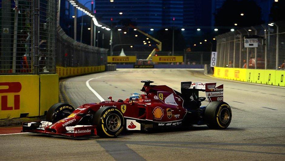 F1 - GP Singapour 2014 : Alonso se replace aux essais libres 3