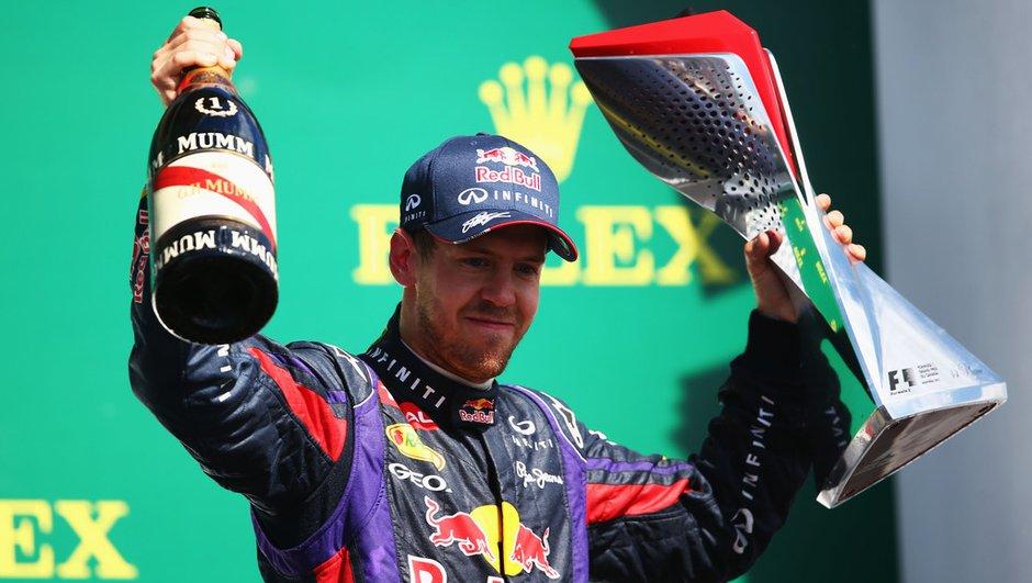 F1 : Vettel chez Red Bull jusqu'à fin 2015