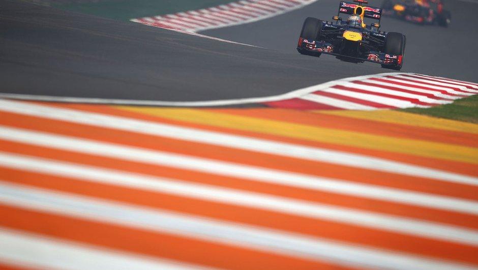 F1 - Essais 2 GP Inde : Vettel toujours