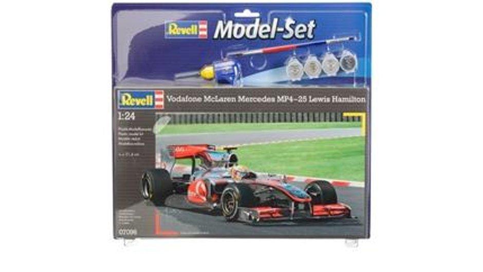 Idée Cadeau N°26 : la maquette de la F1 de Hamilton à monter !