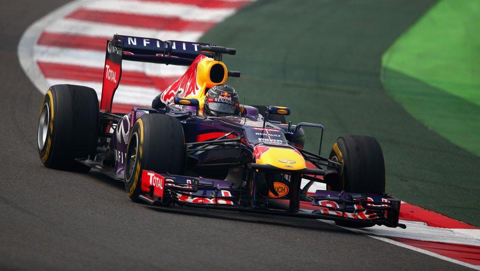 F1 - GP d'Inde 2013 : Vettel s'offre une victoire le jour de son titre