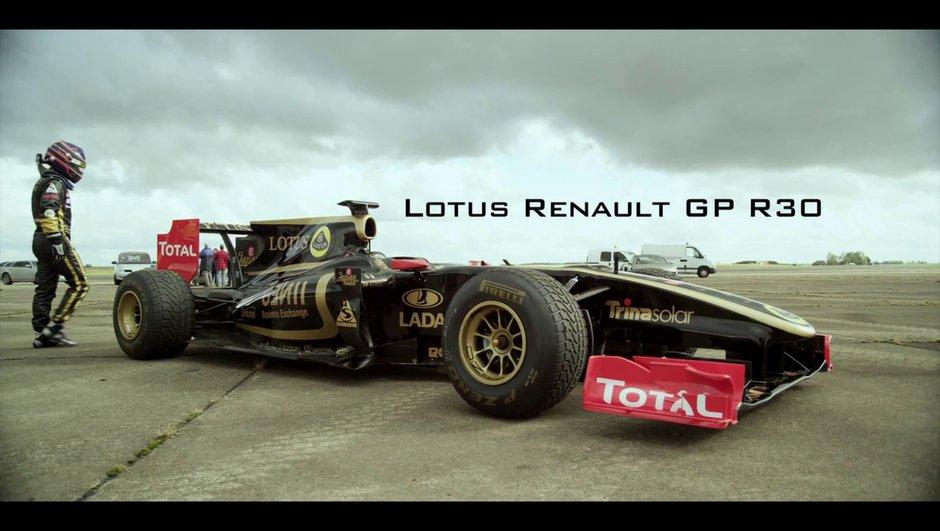 Vidéo : de 0 à 300 km/h par Lotus Renault F1