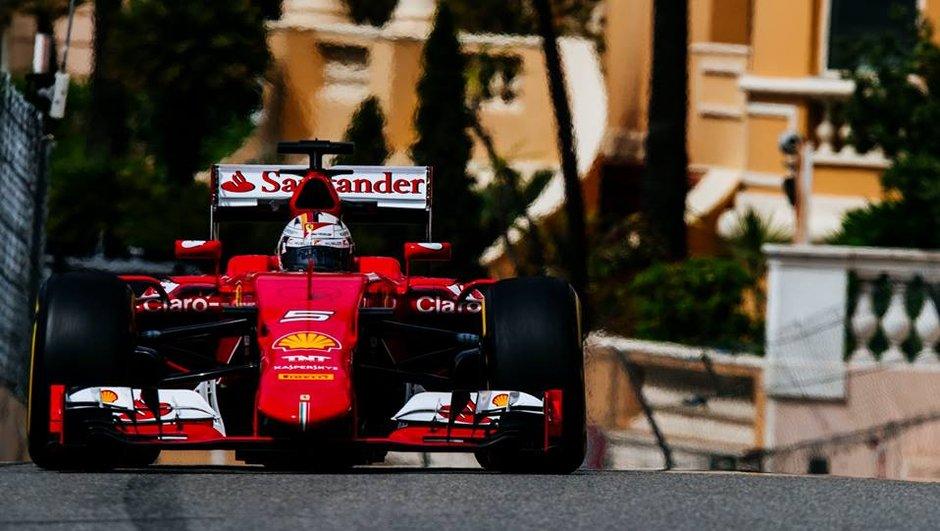 F1 - Monaco 2015: Vettel se montre avant les qualifications