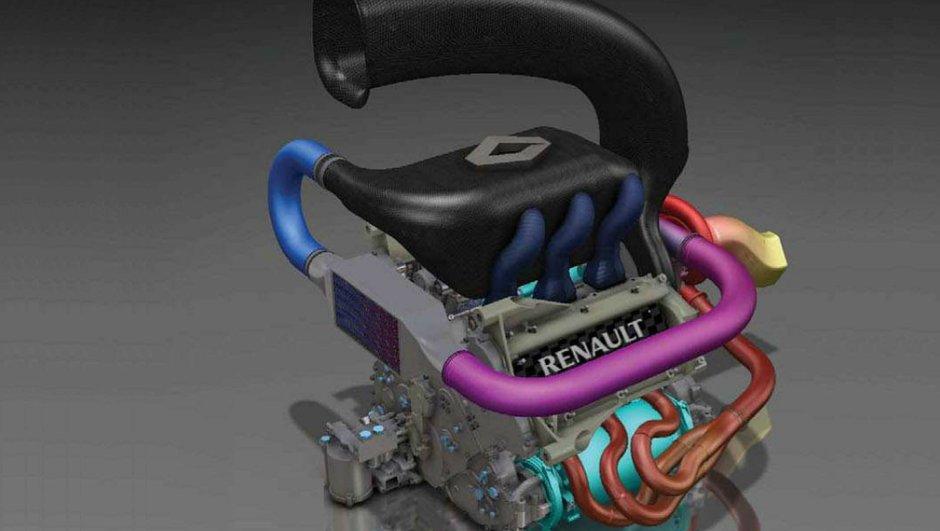 F1 : Voici le moteur V6 Renault pour 2014 !