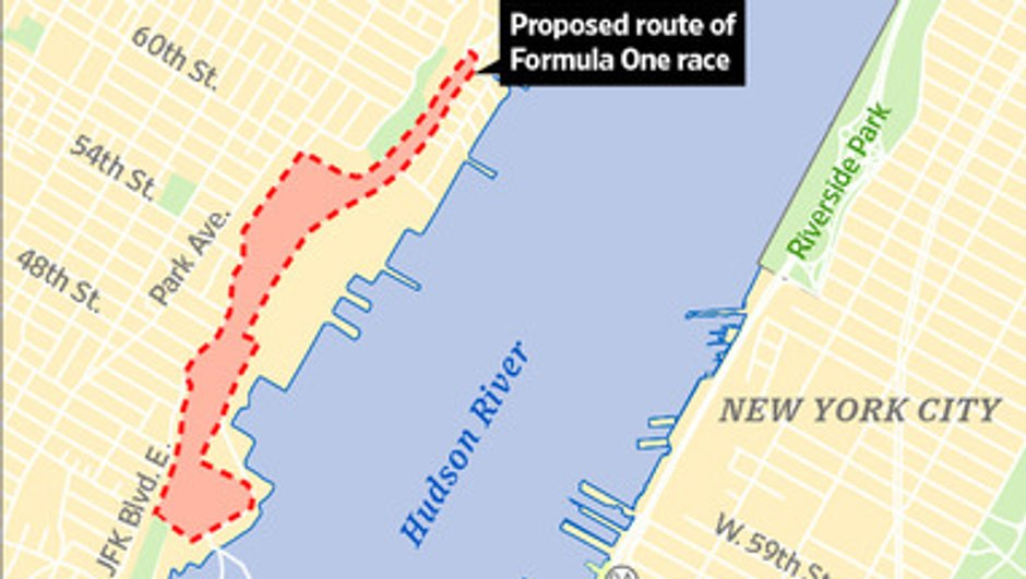 F1 : un Grand Prix à New York en 2013 ?
