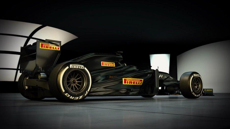 F1 : les très larges pneus 2017 dévoilés par Pirelli