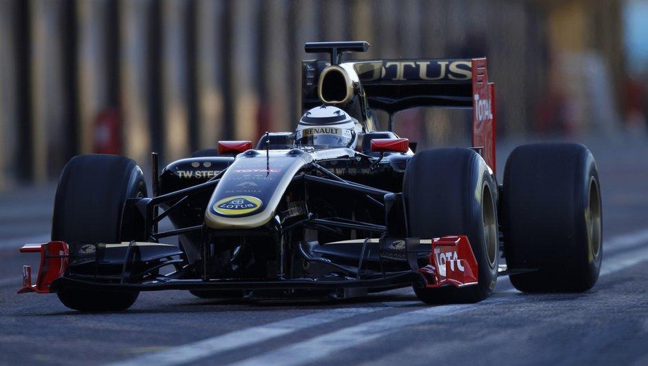F1 : Räikkönen effectue ses premiers tests chez Lotus en vidéo