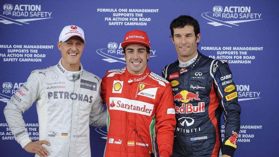 F1 - GP de Grande-Bretagne : La grille de départ