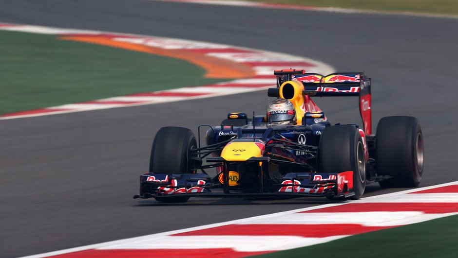 F1 - Essais 1 GP Inde : Vettel en leader