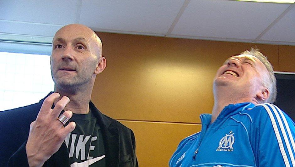 Barthez rencontre Deschamps et Mandanda avant le choc OM-Manchester