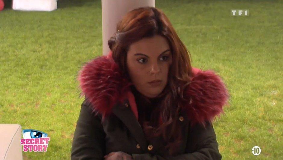 Fanny déçue par le comportement de Sarah