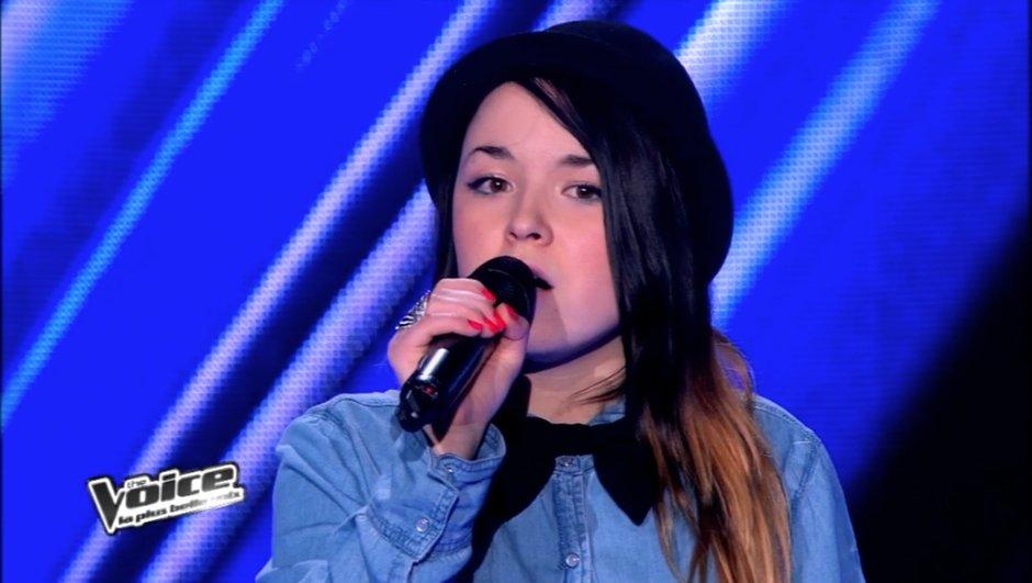 "The Voice : la douce Fanny Melili émeut Jenifer avec ""So far away from L.A."""
