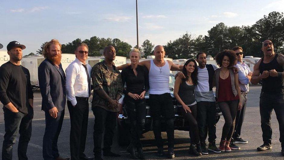 Fast & Furious 8 : Vidéo explosive en Islande et photo du casting au complet !