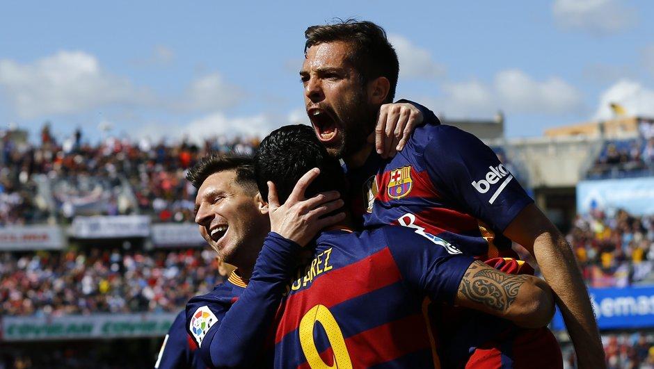 Liga : Le Barça et Suarez rois d'Espagne