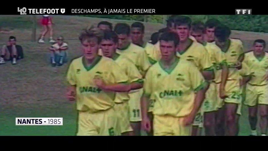 """[EXCLU Téléfoot 10/12] - Le Document Téléfoot - Deschamps évoque ses débuts au FC Nantes : """"Ce club m'a construit, je lui serai éternellement reconnaissant'"""""""