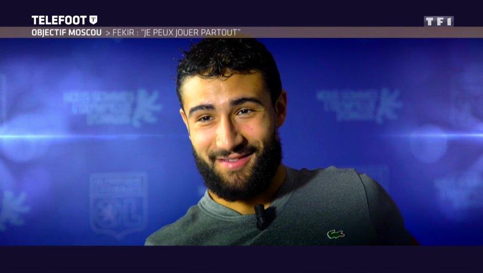 """[EXCLU Téléfoot 21/01] – Equipe de France / Nabil Fekir : """"Avec Didier Deschamps on parle, s'il fait appel à moi je répondrai présent"""""""