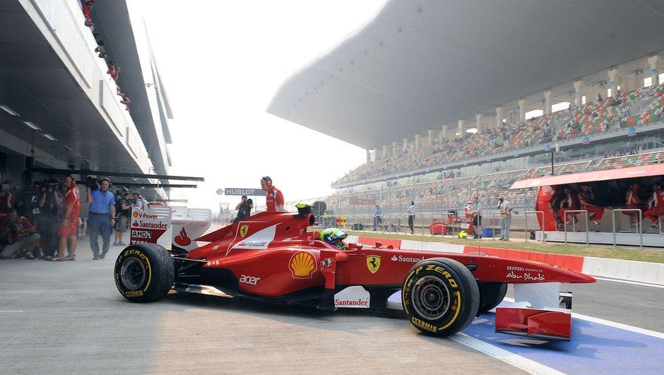 F1 GP d'Inde : résultats des essais libres 2