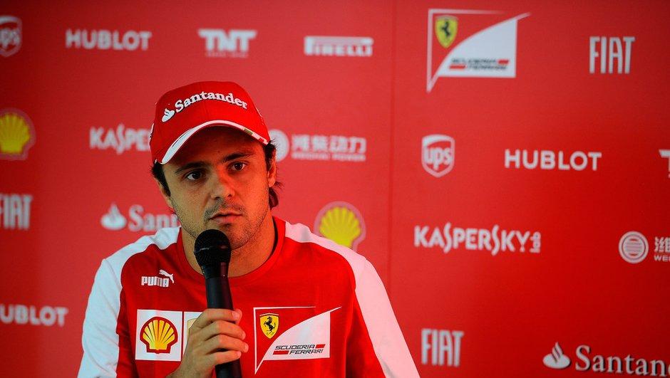 F1 : Felipe Massa annonce son départ de Ferrari