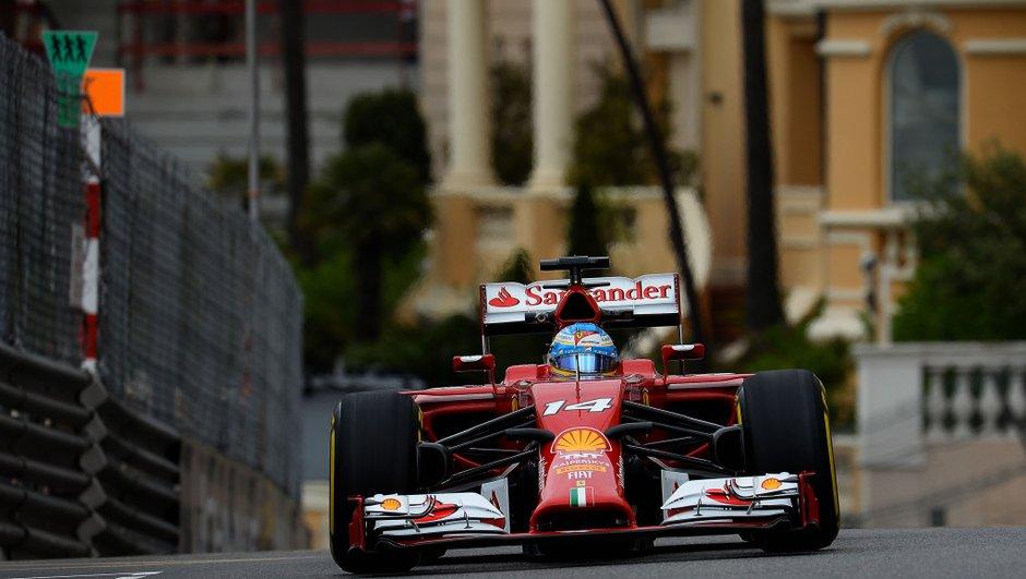 F1 - Essais 2 Monaco 2014 : Alonso s'impose sur une piste séchante