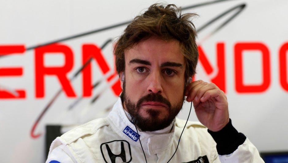 """F1 2015 : pour Alonso, le bloc Honda est """"un moteur de GP2"""""""