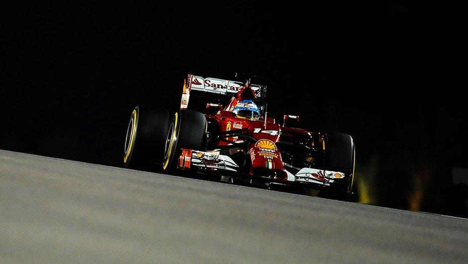 F1 - Essais 1 GP Singapour 2014 : Alonso en tête, Mercedes à l'affût