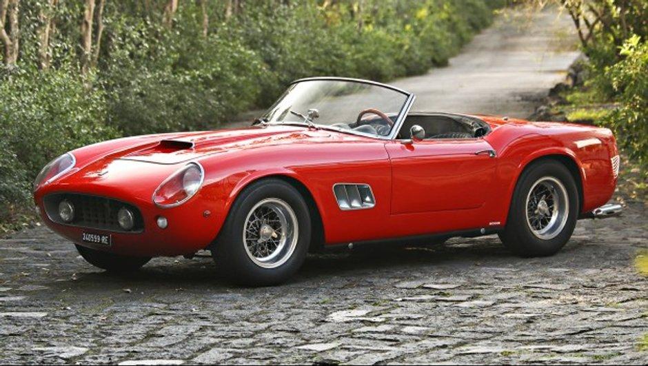 Cette Ferrari 250 GT SWB California Spider pourrait dépasser les 15 millions d'euros