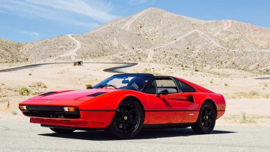 Insolite : une Ferrari 308 GTS électrique !