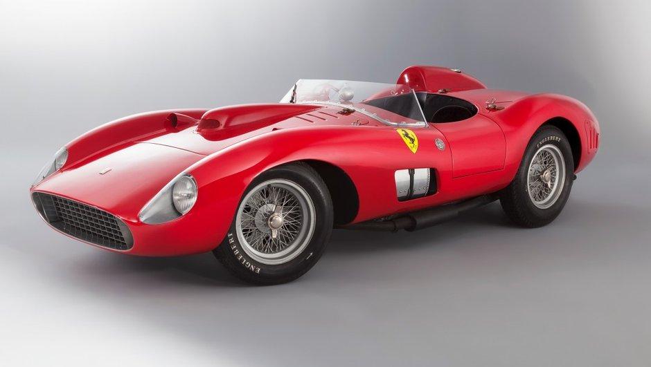 Enchères Artcurial 2016 : Ferrari 335 Sport, estimée à 30 millions d'euros !