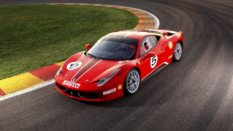 Ferrari 458 Challenge : Italia e Competizione