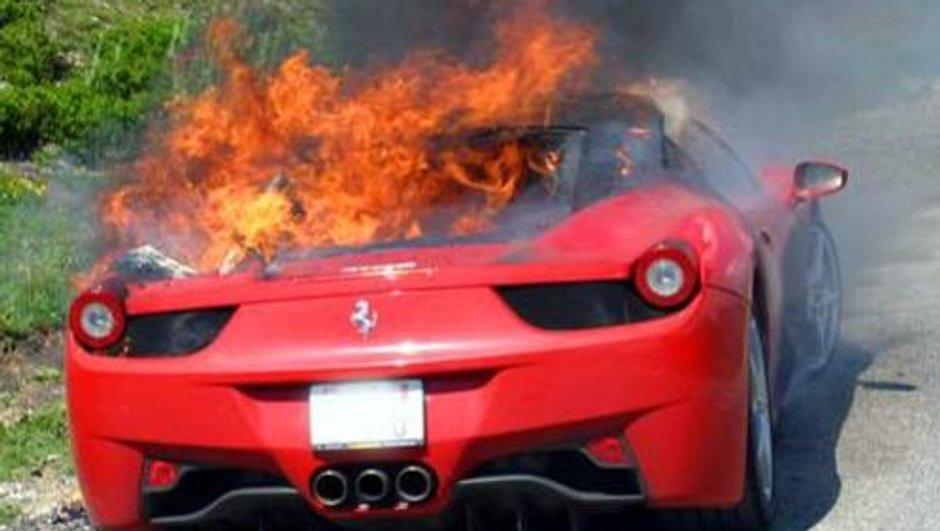 Rappel officiel pour les Ferrari 458 Italia