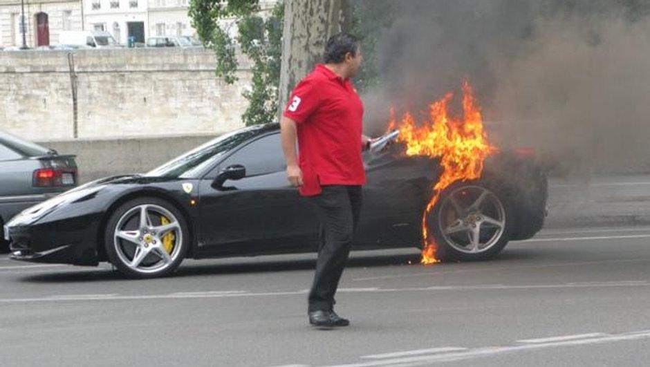 Ferrari 458 Italia : enquête interne des incendies sur le feu