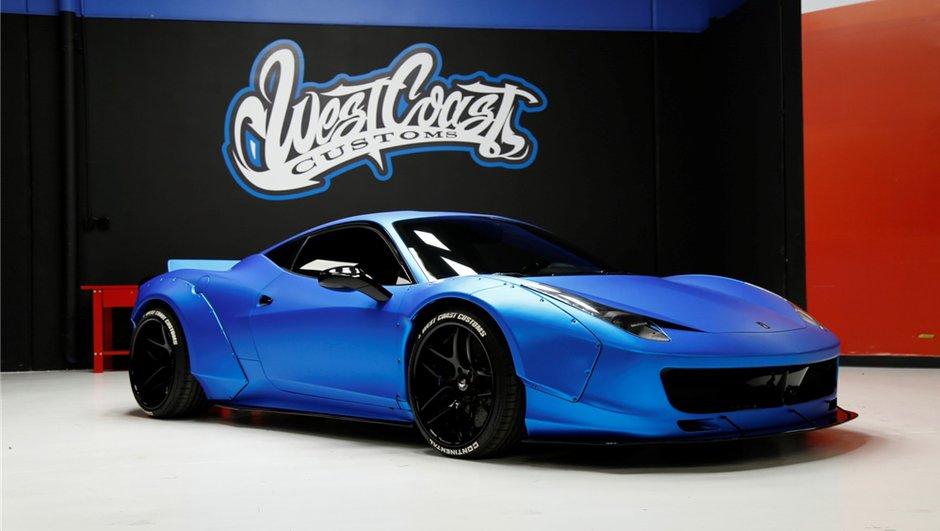 La Ferrari 458 Italia de Justin Bieber est à vendre aux enchères !