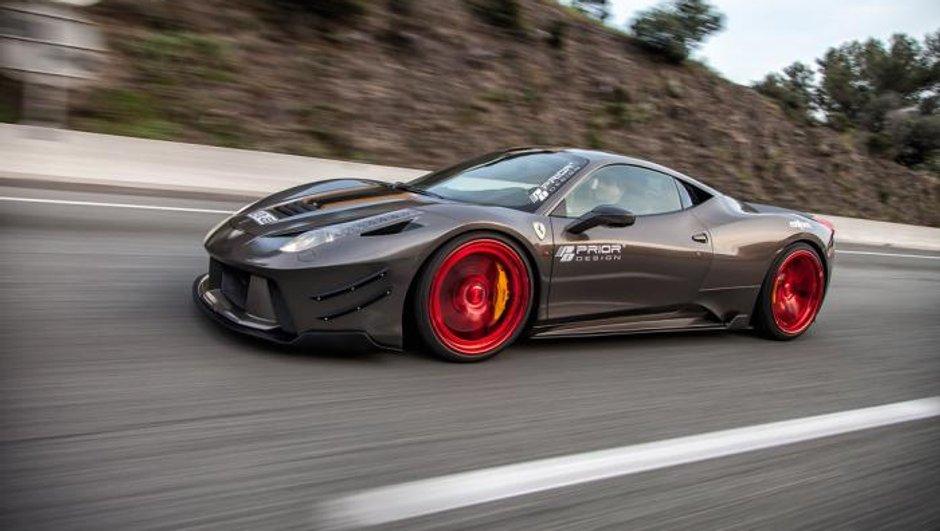 Design : une Ferrari 458 Italia by Prior Design