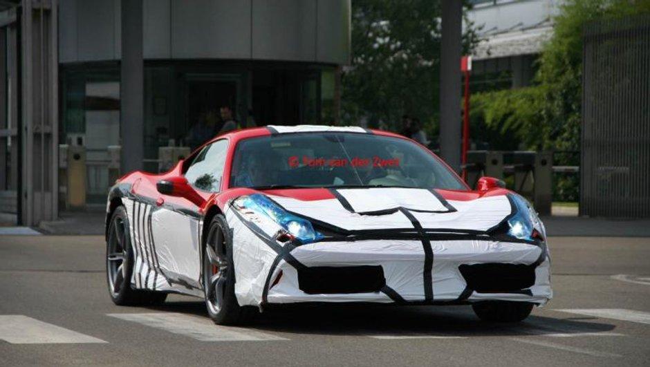 Ferrari 458 Monte Carlo : prête pour le Salon de Francfort 2013 ?