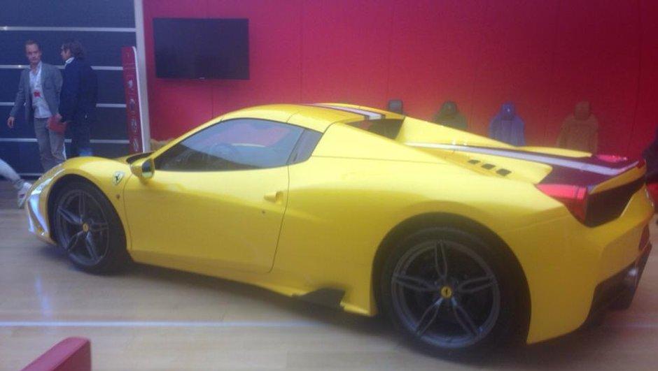 Future Ferrari 458 Speciale Spider 2014 : premières photos scoop ?